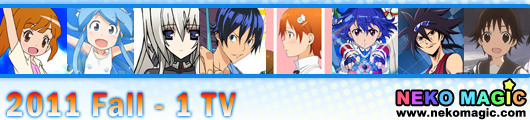 2011 Fall anime Part 1: TV anime I