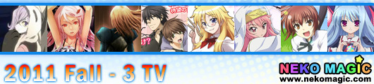 2011 Fall anime Part 3: TV anime III