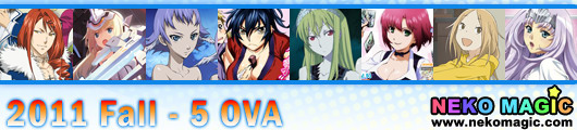 2011 Fall anime Part 5: OVA/OAD II