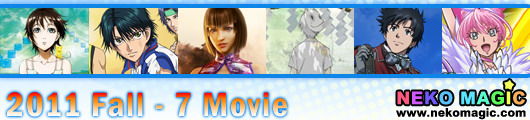 2011 Fall anime Part 7: Movie