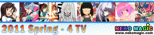 2011 Spring anime Part 4: TV anime IV