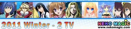 2011 Winter anime Part 2: TV anime II