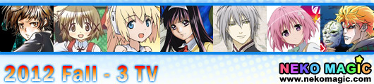 2012 Fall anime Part 3: TV anime III