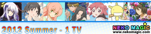 2012 Summer anime Part 1: TV anime I
