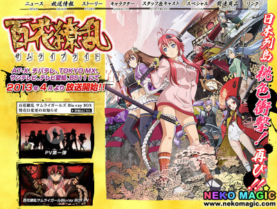 2013 Spring anime Part 2: TV anime II