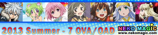2013 Summer anime Part 7: OVA/OAD III