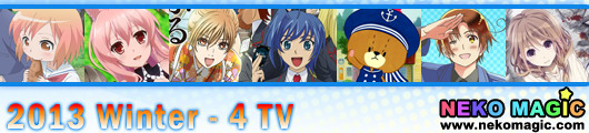 2013 Winter anime Part 4: TV anime IV