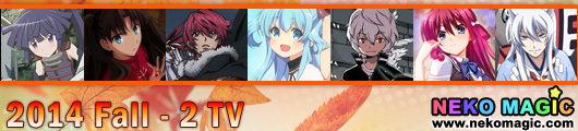 2014 Fall anime Part 2: TV anime II