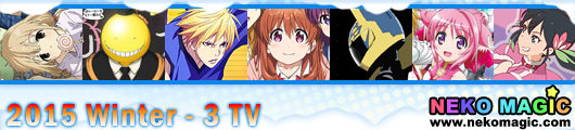 2015 Winter anime Part 3: TV anime III