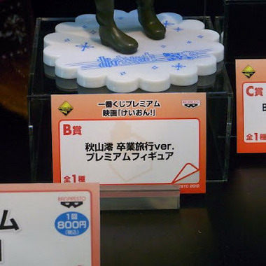 Banpresto Expo Part 3: K ON!