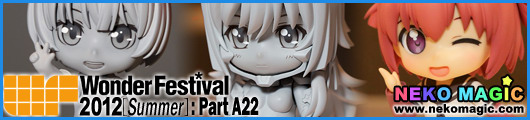 Wonder Festival 2012 [Summer] Part A22: Wonderful Hobby Life for You!! 16   Nendoroid I