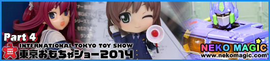 International Tokyo Toy Show 2014 Part 4: Takara TOMY