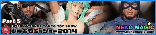 International Tokyo Toy Show 2014 Part 5: Capcom, Megahouse, Hot Toys