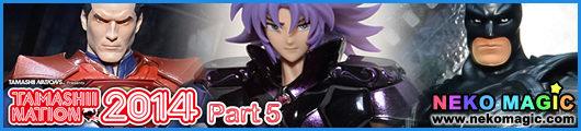 Tamashii Nation 2014 Part 5: World Hero, To Be A HERO, Saint Cloth Myth
