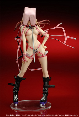 Air Gear Noyamano Ringo hentai kamen version PVC figure by Yamato