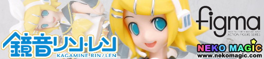 Vocaloid 2 Kagamine Rin figma 019 action figure by Max Factory