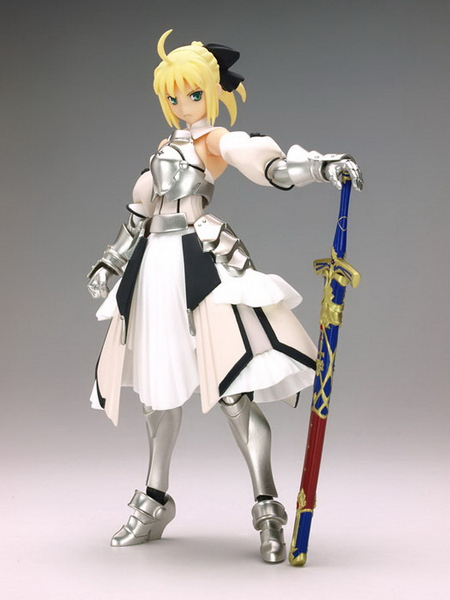 PS2 Fate/Unlimited Codes SP BOX Saber Lily figma action figure by Capcom