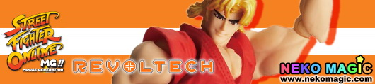 Street Fighter Online Revoltech SFO Ken action figure by Kaiyodo