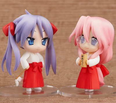 Lucky Star New Year Set Nendoroid Petit trading figure by Good Smile Company