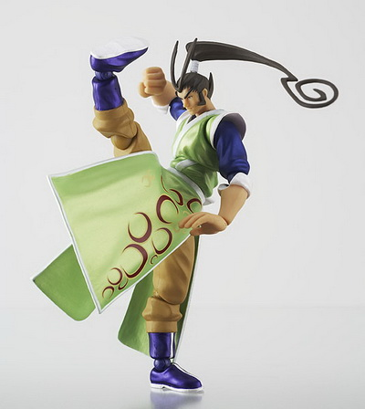 Street Fighter Online Revoltech SFO Reikochuu action figure by Kaiyodo
