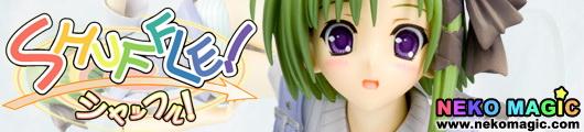 SHUFFLE! Memories Shigure Asa 1/8 PVC figure by Kotobukiya 4 Leaves