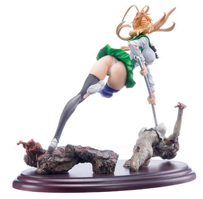 Highschool of the Dead Miyamoto Rei non scale PVC figure by Organic