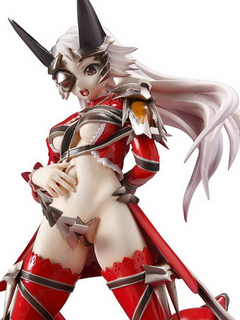 Queen's Blade P 10 the Queen of Demon Aludra 1/8 PVC figure by MegaHouse