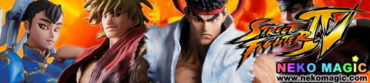 Super Modeling Soul Street Fighter IV trading figure by Bandai