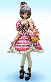 The Melancholy of Haruhi Suzumiya Asahina Mikuru Gothic Punk ver. 1/7 PVC figure by Orchidseed