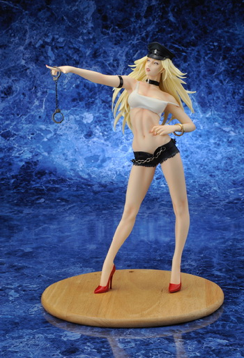 Final Fight Capcom Girl Collection Poison Reflect Black Ver. 1/6 PVC figure by Yamato