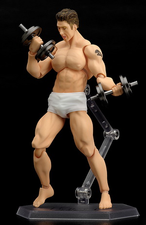 Panty Wrestling Big Brother Billy Herrington figma 029 action figure by Max Factory