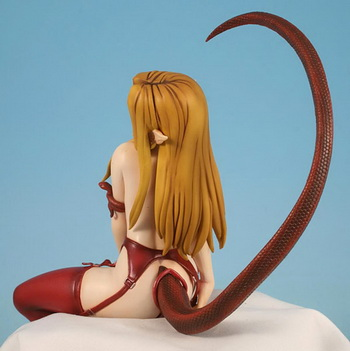 Kagehara Hanzo original character Eris (Volcano Red) 1/7 PVC figure by Tight rope