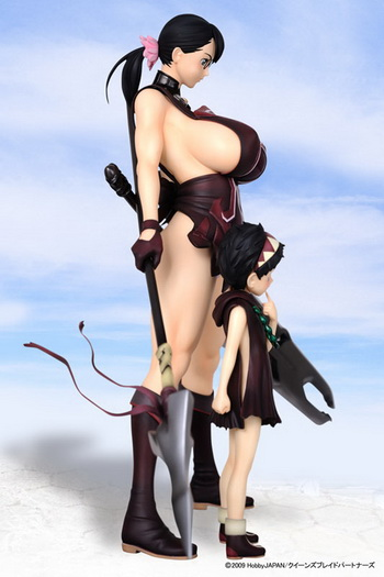 Queen's Blade the Weapons Shop Cattleya 1/7 PVC figure by R line Griffon Enterprises