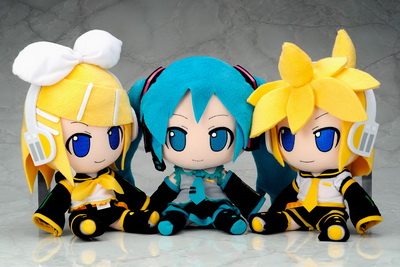 Vocaloid 2 Kagamine Rin Nendoroid Plus Plushie Series 04 by Gift