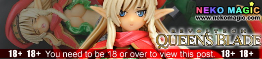 Queens Blade the Combat Instructor Alleyne Revoltech QB 007 action figure by Kaiyodo