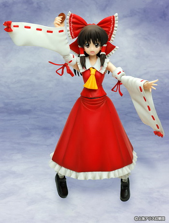 Touhou Project Hakurei Reimu Figutto! FG 001 action figure by Griffon Enterprises