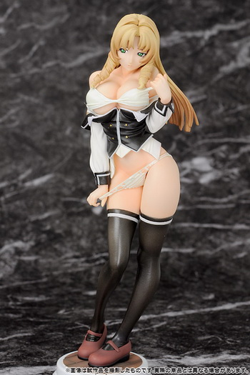 Bible Black Shiraki Rika 1/8 PVC figure by Miyabiya