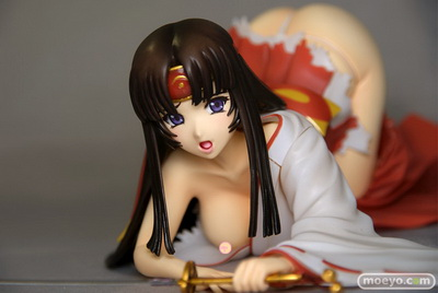Queen's Blade the Musha Miko Tomoe 1/8 PVC figure PVC figure by MOVIC
