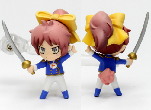 Baka to Test to Shoukanjuu PVC figure straps by Toranoana