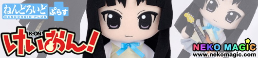 K ON! Akiyama Mio Summer Uniform Ver. Nendoroid Plus Plush Series 15 plush by TBS animation