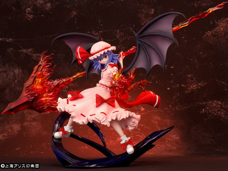Touhou Project Special the Eternally Young Scarlet Moon Remilia Scarlet Divine Spear ver. 1/7 PVC figure by Griffon Enterprises