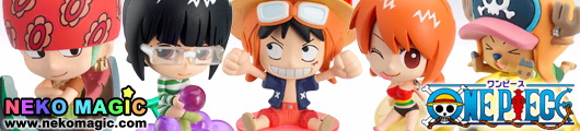Petit Chara Land One Piece Strong World Fruit Party trading figure by Megahouse