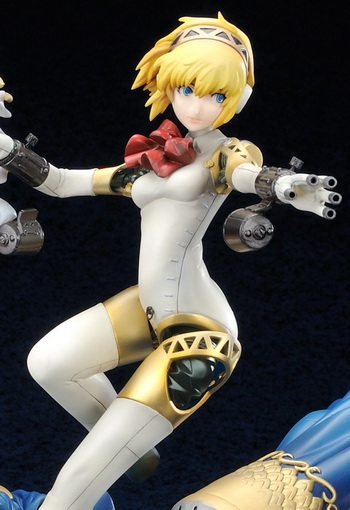 Persona 3 Aigis GEE! Limited Edition Normal Ver. non scale PVC figure by Ex resinya!