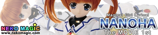 Magical Girl Lyrical Nanoha The Movie 1st Takamachi Nanoha Hybrid Active Figure 1/3 doll by AZONE