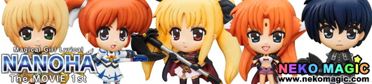 Mascot Relief Magent Magical Girl Lyrical Nanoha The Movie 1st trading figure by Megahouse