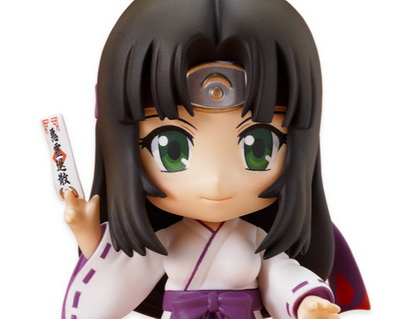 Queen's Blade Tomoe 2P Color Ver. Nendoroid No.127b action figure by Good Smile Company