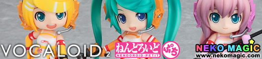 Vocaloid 2 Racing Miku Set 2010 ver. Nendoroid Petit trading figure by Good Smile Company
