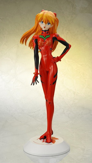 Evangelion 2.0 You can (not) Advance Shikinami Asuka Langley Plugsuit Ver. 1/2.5 Polystone figure by Aizu Project