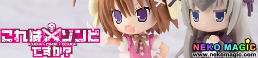 Koreha Zombie Desuka? Haruna & Eu Toy's works collection 2.5 trading figure by Kadokawa