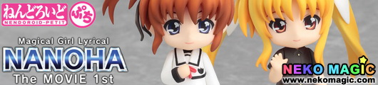 Magical Girl Lyrical Nanoha The Movie 1st Nanoha & Fate   Final Scene Ver. Nendoroid Petit trading figure by Good Smile Company